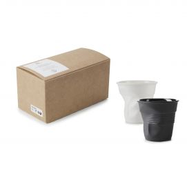 GIFTBOXED CRUMPLE TUMBLER 18CL,X2