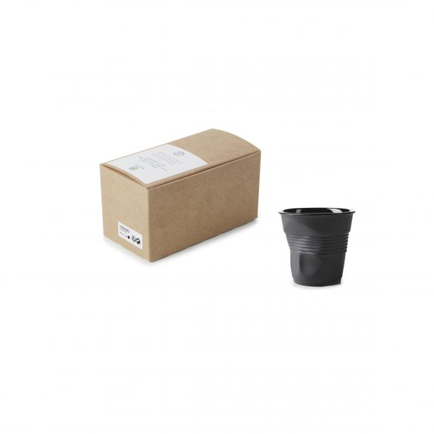 GIFTBOXED CRUMPLE TUMBLER 8CL,X2