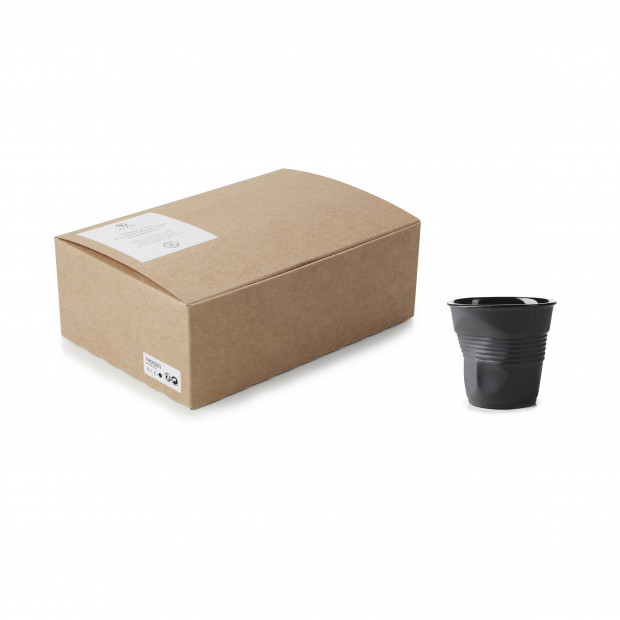 GIFTBOXED CRUMPLE TUMBLER 8CL,X6