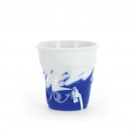 """Gobelet Espresso 8 cl - Décor """"Monochrome"""" - Diam. 6,5 cm H. 6 cm"""