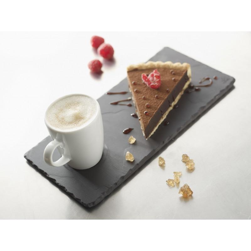 Plateau caf gourmand en porcelaine - Assiette rectangulaire pour cafe gourmand ...